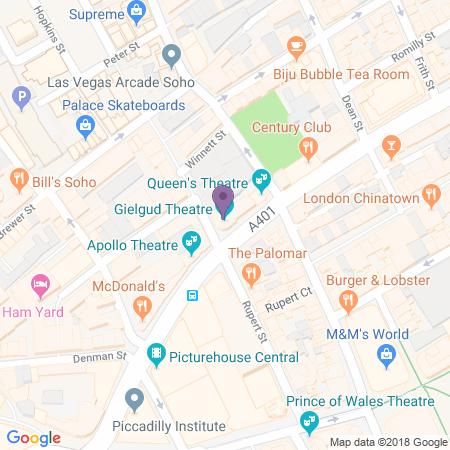 Gielgud Theatre Karta