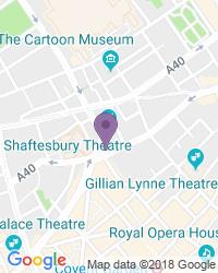 Shaftesbury Theatre - Teaterns adress
