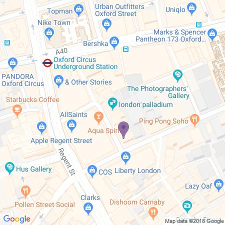 London Palladium Karta
