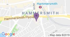 Hammersmith Apollo (Eventim) - Teaterns adress
