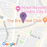 Menier Chocolate Factory - Teaterns adress