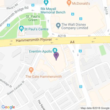 Hammersmith Apollo (Eventim) Karta