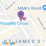 Criterion Theatre - Teaterns adress