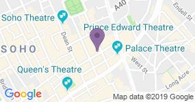 Prince Edward Theatre - Teaterns adress